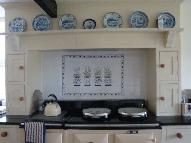 Aga Kitchen Design Uk hand painted tiles,ceramic tile murals,bespoke designs and one-off