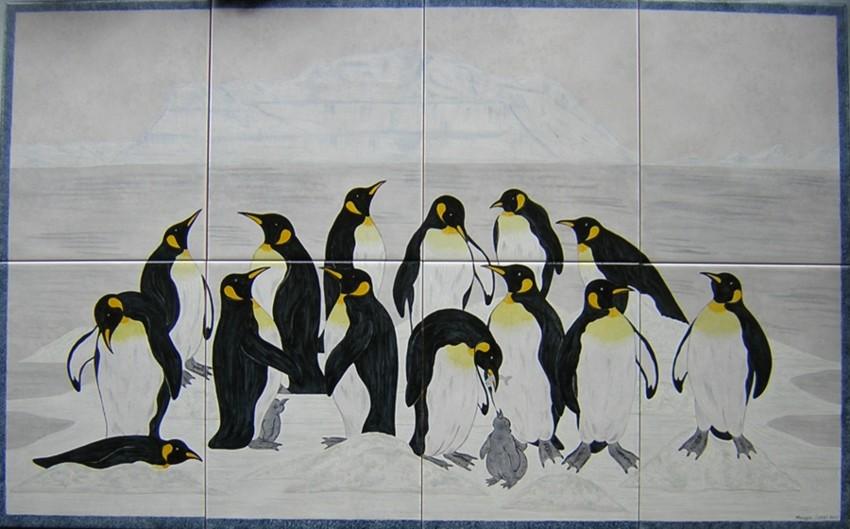 Hand Painted Tiles Ceramic Tile Murals Bespoke Designs And