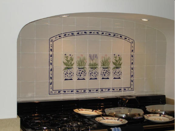 Hand Painted Tiles Ceramic Tile Murals Bespoke Designs And