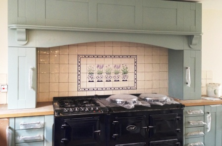 Hand Painted Tiles Ceramic Tile Murals Bespoke Designs And One Off Commissions For Splashbacks