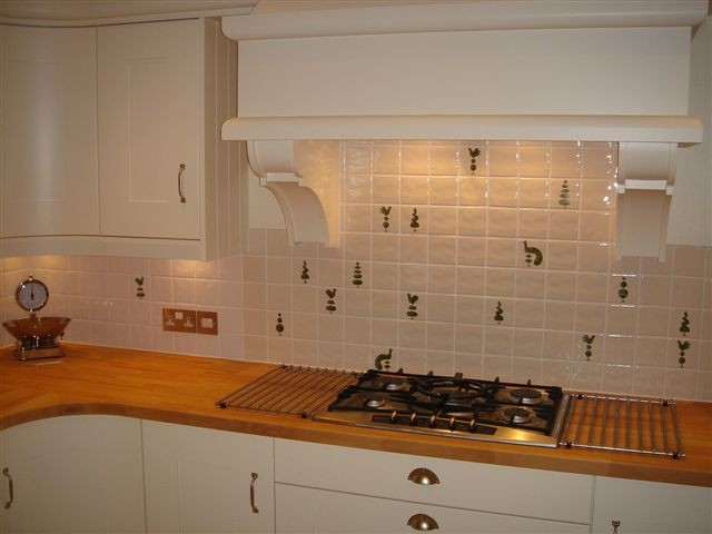 cream kitchen tiles painted tiles ceramic tile murals bespoke designs and 3012